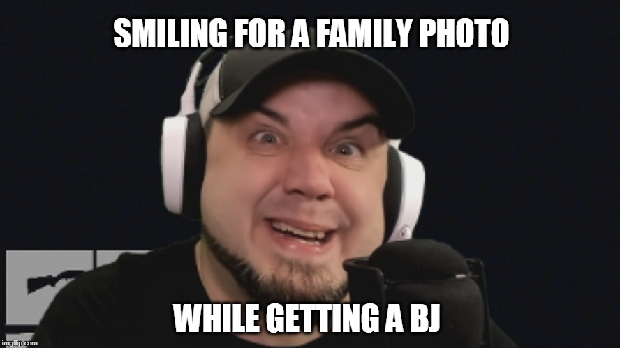 Madd Vladd | SMILING FOR A FAMILY PHOTO WHILE GETTING A BJ | image tagged in the outer middle show | made w/ Imgflip meme maker