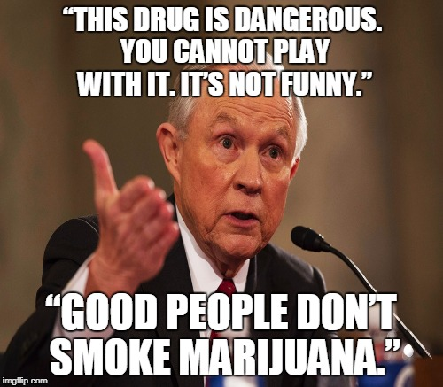 """THIS DRUG IS DANGEROUS. YOU CANNOT PLAY WITH IT. IT'S NOT FUNNY."" ""GOOD PEOPLE DON'T SMOKE MARIJUANA."" 