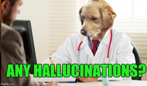 ANY HALLUCINATIONS? | made w/ Imgflip meme maker