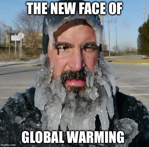 It's real I tell ya! | THE NEW FACE OF GLOBAL WARMING | image tagged in global warming,climate change,al gore,leo dicaprio | made w/ Imgflip meme maker