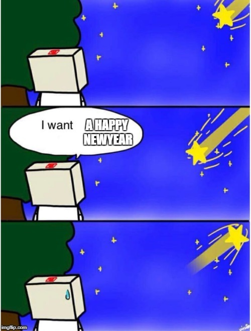 shooting star | A HAPPY NEWYEAR | image tagged in shooting star | made w/ Imgflip meme maker