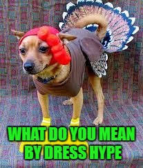 WHAT DO YOU MEAN BY DRESS HYPE | made w/ Imgflip meme maker