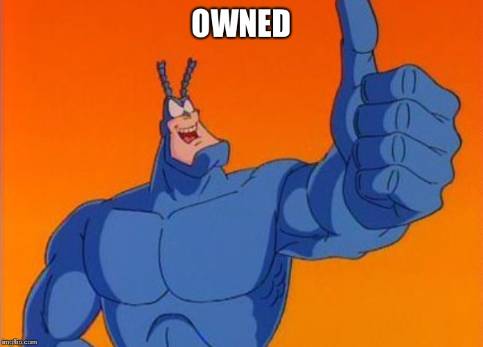 OWNED | made w/ Imgflip meme maker