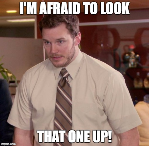 I'M AFRAID TO LOOK THAT ONE UP! | made w/ Imgflip meme maker