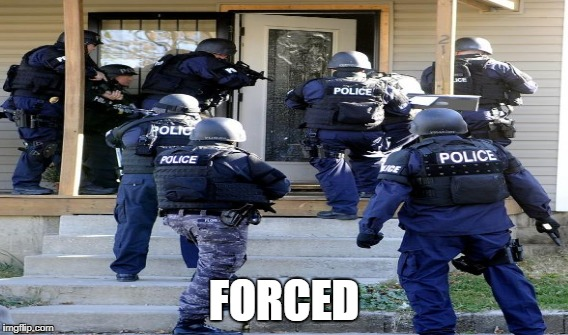 FORCED | made w/ Imgflip meme maker