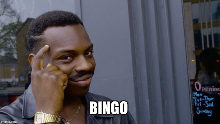 Roll Safe Think About It Meme | BINGO | image tagged in memes,roll safe think about it | made w/ Imgflip meme maker
