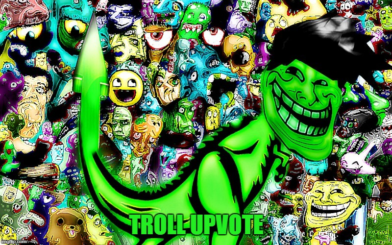 troll by jying | TROLL UPVOTE | image tagged in troll by jying | made w/ Imgflip meme maker