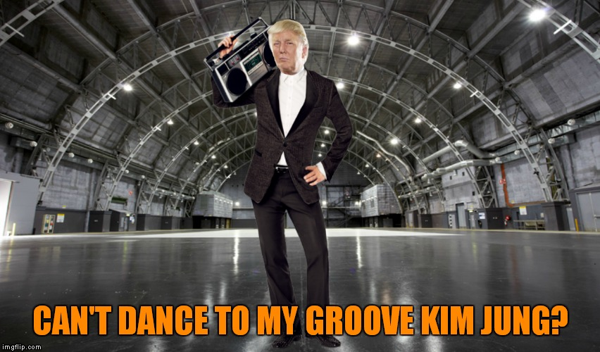 CAN'T DANCE TO MY GROOVE KIM JUNG? | made w/ Imgflip meme maker