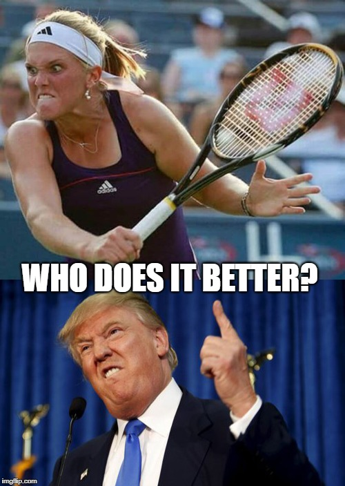 Who Does It Better? | WHO DOES IT BETTER? | image tagged in memes,who does it better,meme,donald trump,trump,funny | made w/ Imgflip meme maker