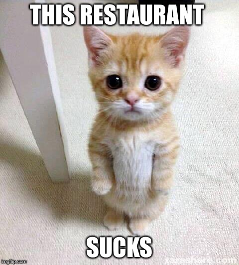 THIS RESTAURANT SUCKS | made w/ Imgflip meme maker
