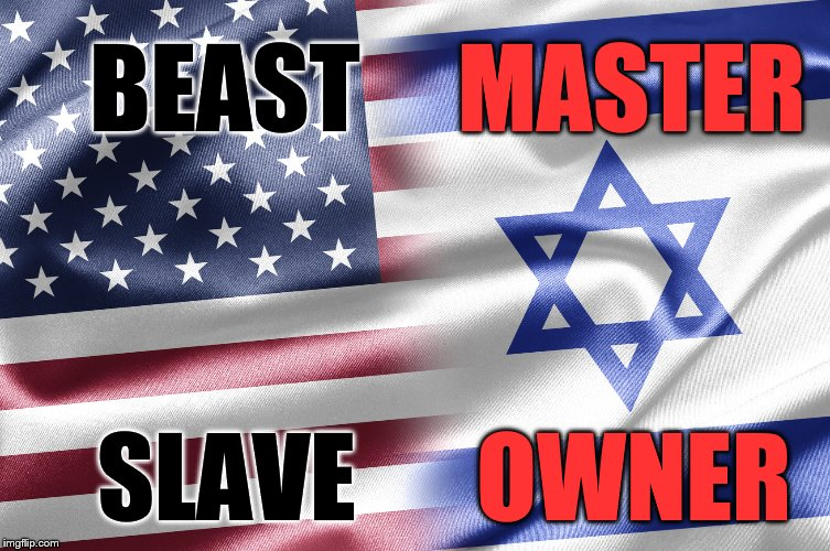 BEAST MASTER SLAVE OWNER | image tagged in israel | made w/ Imgflip meme maker
