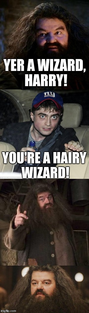 Harry you need to stop drinking. For geek week. | YER A WIZARD, HARRY! YOU'RE A HAIRY WIZARD! | image tagged in geek week,you're a wizard harry,harry potter crazy,go home you're drunk,no words,hagrid | made w/ Imgflip meme maker