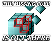 THE MISSING CUBE IS OUT THERE | made w/ Imgflip meme maker