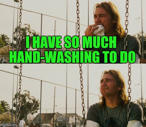 I HAVE SO MUCH HAND-WASHING TO DO | made w/ Imgflip meme maker