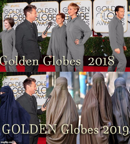 Golden Globes  | image tagged in golden globes | made w/ Imgflip meme maker