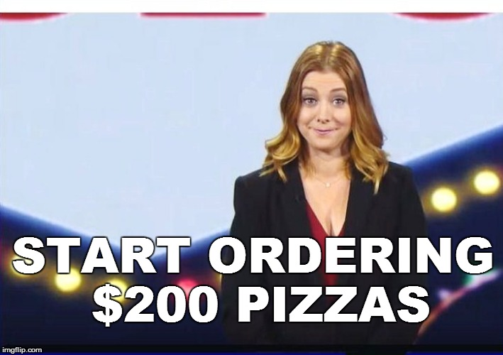 START ORDERING $200 PIZZAS | made w/ Imgflip meme maker