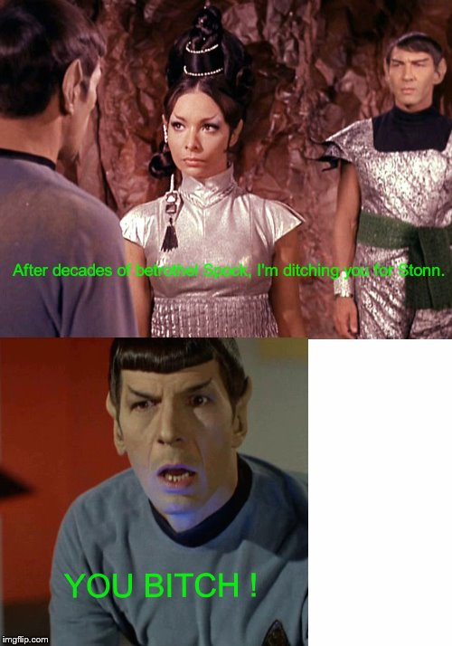Amok Time the behind the scenes story... | . . | image tagged in star trek | made w/ Imgflip meme maker