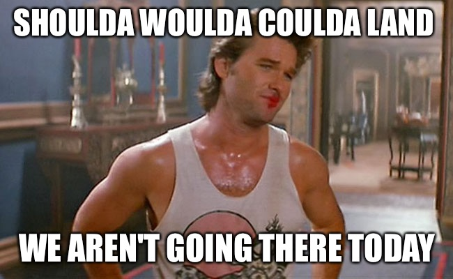 Lipstick | SHOULDA WOULDA COULDA LAND WE AREN'T GOING THERE TODAY | image tagged in lipstick | made w/ Imgflip meme maker