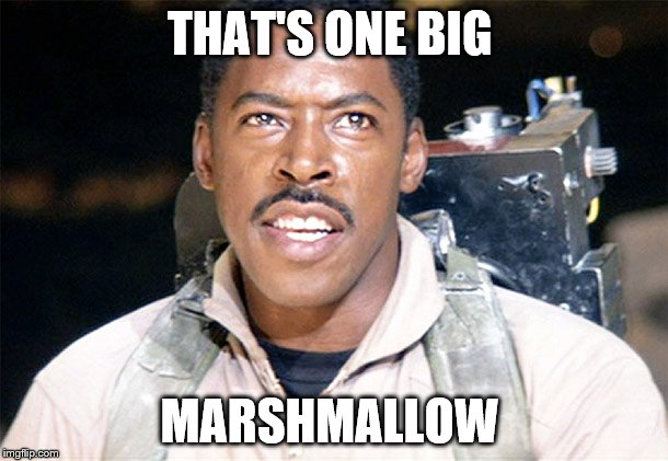 THAT'S ONE BIG MARSHMALLOW | made w/ Imgflip meme maker