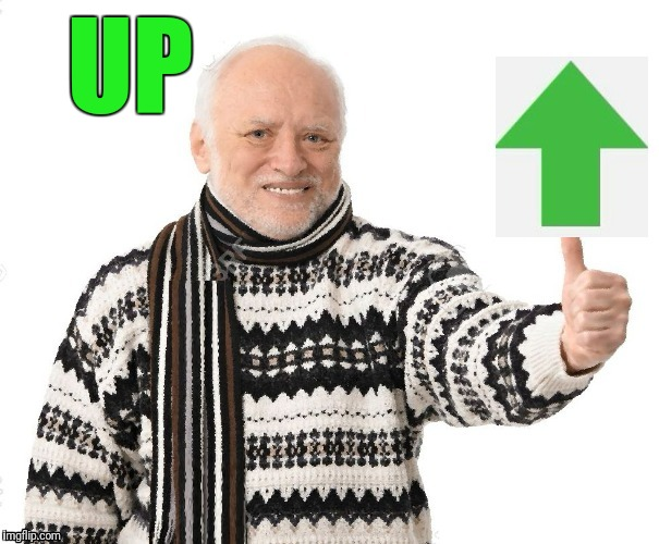 Upvote Harold | UP | image tagged in upvote harold | made w/ Imgflip meme maker