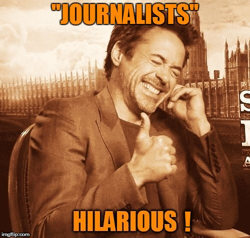 ''JOURNALISTS'' ! | made w/ Imgflip meme maker