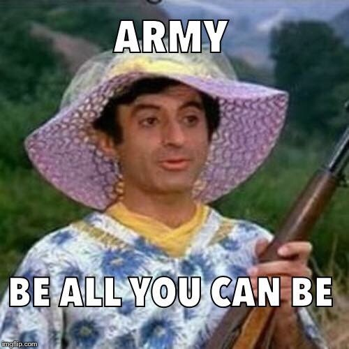 Klinger would be proud | A | image tagged in transgender,military,memes | made w/ Imgflip meme maker