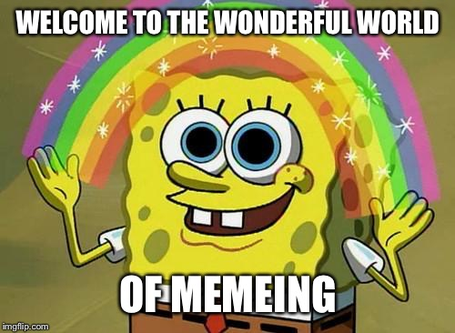 WELCOME TO THE WONDERFUL WORLD OF MEMEING | made w/ Imgflip meme maker