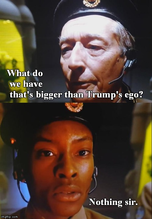 Bigger than 240 | What do we have Nothing sir. that's bigger than Trump's ego? | image tagged in 5th element,bigger than 240,meme | made w/ Imgflip meme maker