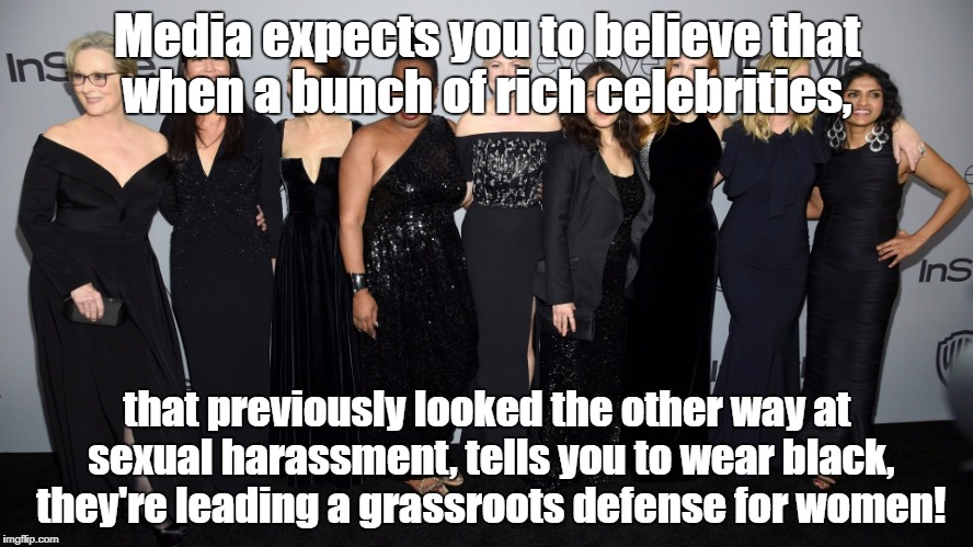 "Millionaire actresses aren't ""grassroots!"" 