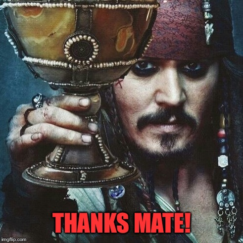 THANKS MATE! | made w/ Imgflip meme maker