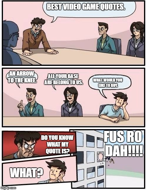 Meeting Room Meme Generator