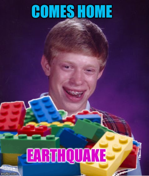 COMES HOME EARTHQUAKE | made w/ Imgflip meme maker
