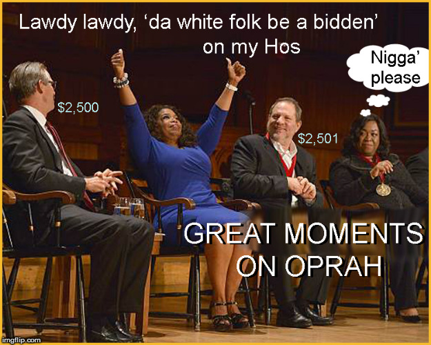 Great Moments on Oprah | image tagged in oprah,current events,pimpin,politics lol,funny memes,trending now | made w/ Imgflip meme maker