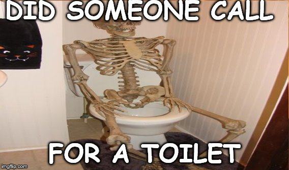 DID SOMEONE CALL FOR A TOILET | made w/ Imgflip meme maker