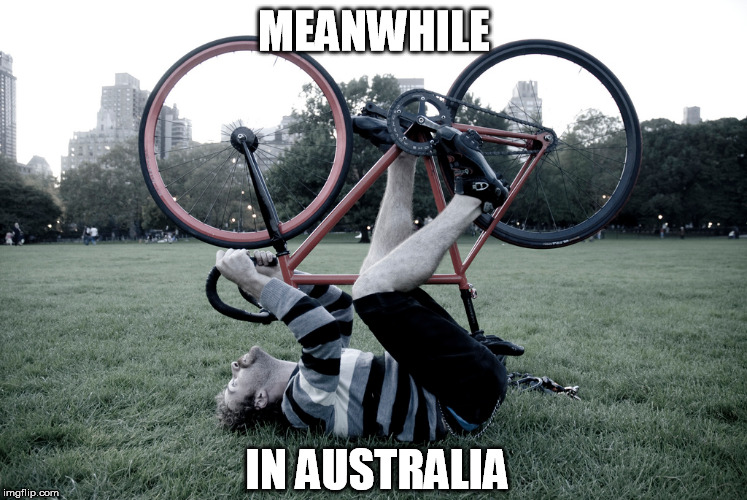 MEANWHILE IN AUSTRALIA | made w/ Imgflip meme maker