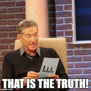 Maury Lie Detector Meme | THAT IS THE TRUTH! | image tagged in memes,maury lie detector | made w/ Imgflip meme maker