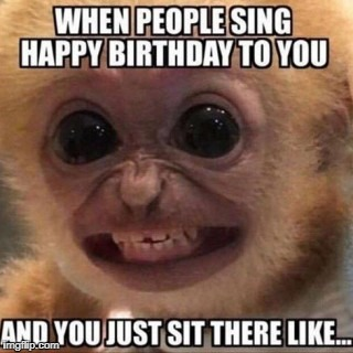 image tagged in funny,birthday,meme,pointless,stupid | made w/ Imgflip meme maker