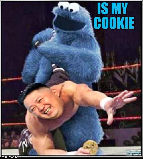 IS MY COOKIE | made w/ Imgflip meme maker