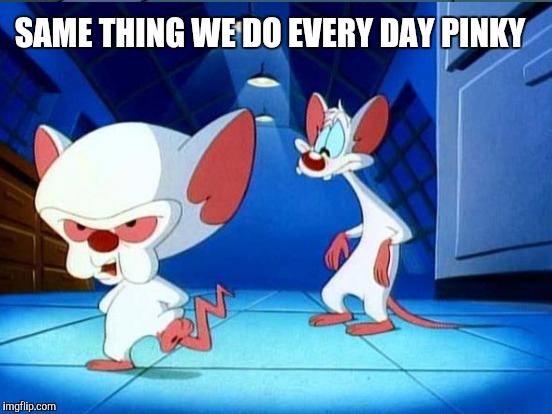 SAME THING WE DO EVERY DAY PINKY | made w/ Imgflip meme maker