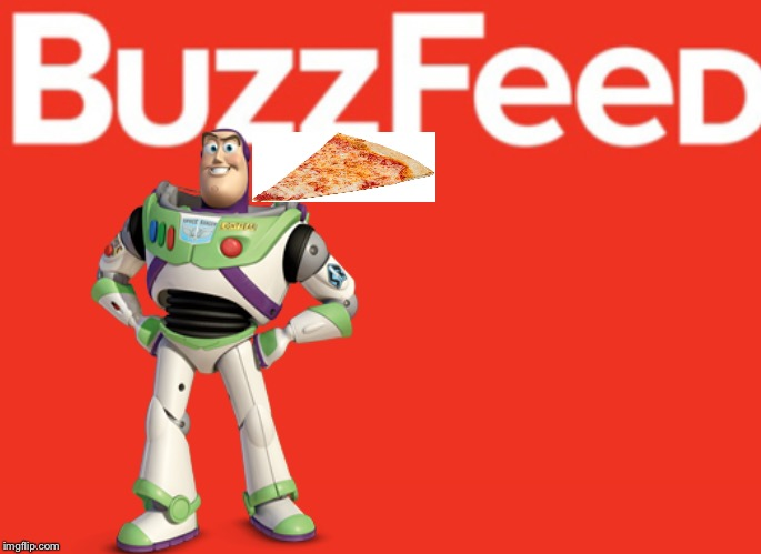 Buzzinga | image tagged in buzz lightyear,disney,buzzfeed | made w/ Imgflip meme maker