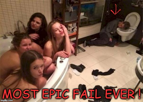 MOST EPIC FAIL EVER! | MOST EPIC FAIL EVER ! | image tagged in most epic fail ever,epic fail | made w/ Imgflip meme maker