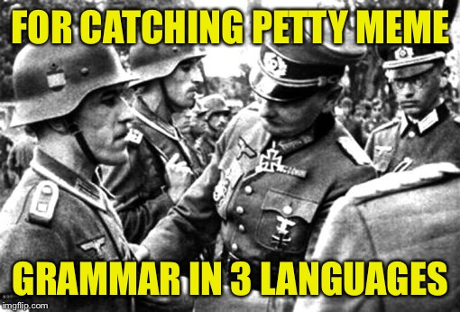 FOR CATCHING PETTY MEME GRAMMAR IN 3 LANGUAGES | made w/ Imgflip meme maker