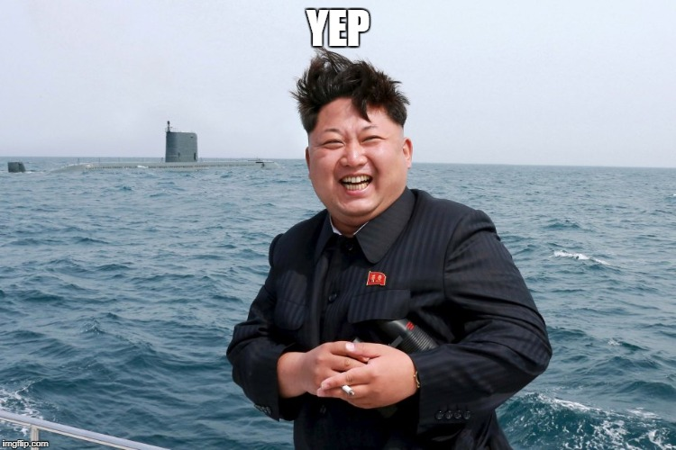 Kim with Sub | YEP | image tagged in kim with sub | made w/ Imgflip meme maker
