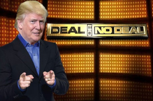 trump deal or no deal blank template imgflip