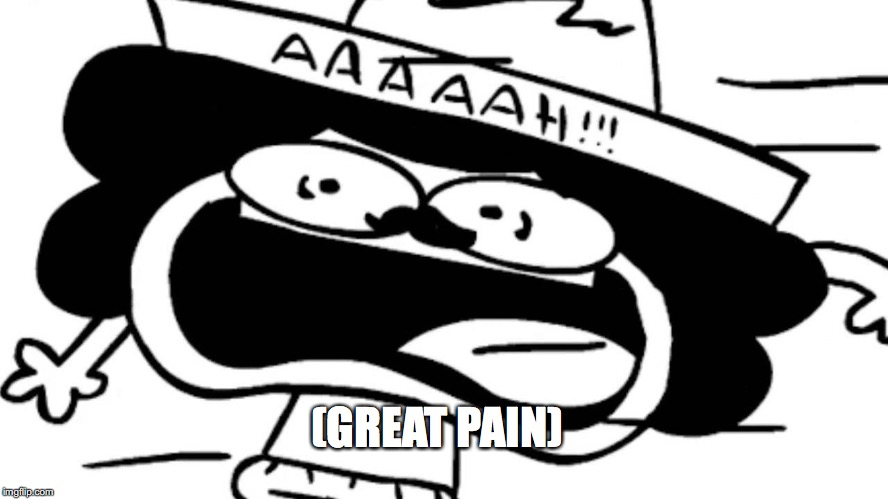 (GREAT PAIN) | made w/ Imgflip meme maker