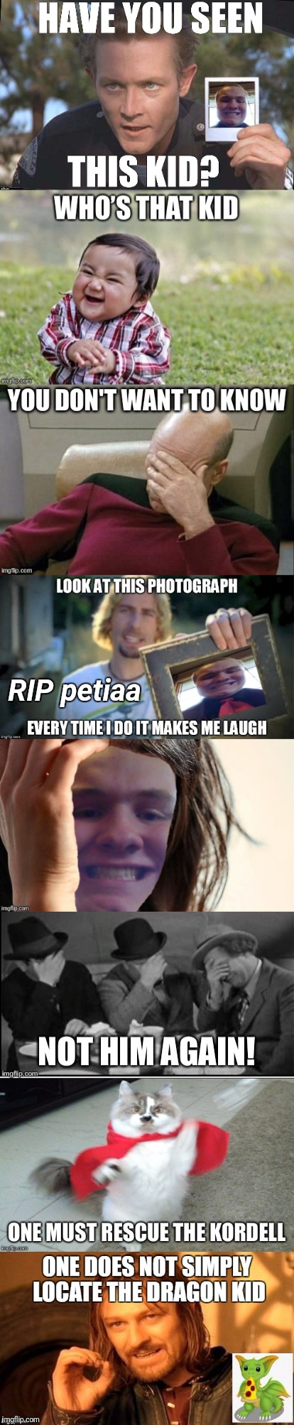 Thanks for the laughs, petiaa.  Sorry you had to go... Godspeed wherever you are. | RIP petiaa | image tagged in deleted accounts,petiaa,awesome,starflightthenightwing,use someones username in your meme | made w/ Imgflip meme maker