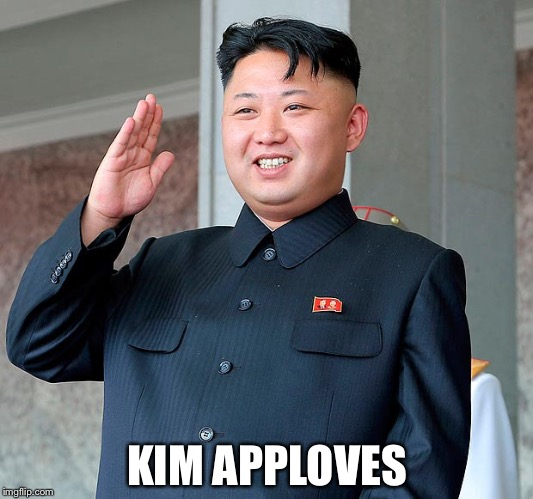 KIM APPLOVES | made w/ Imgflip meme maker