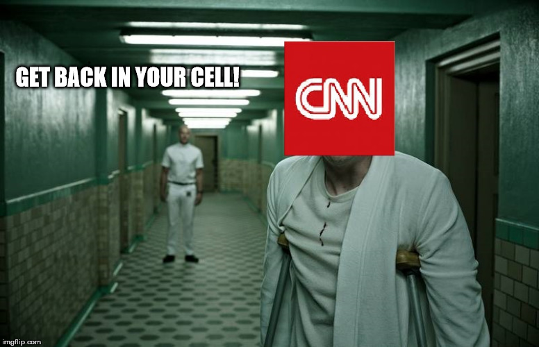 GET BACK IN YOUR CELL! | image tagged in mental health | made w/ Imgflip meme maker