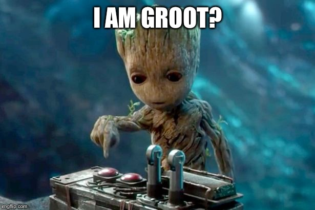 I AM GROOT? | made w/ Imgflip meme maker