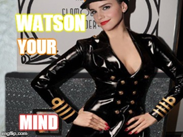 emma watson too sweet | WATSON YOUR MIND | image tagged in emma watson,beauty and the beast,harry potter,oscars,afraid to ask andy | made w/ Imgflip meme maker
